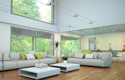 Obraz modernes Loft - fototapety do salonu