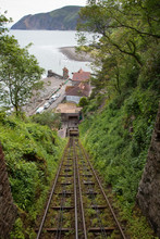 Lynton And Lynmouth Railway View Of Hillside