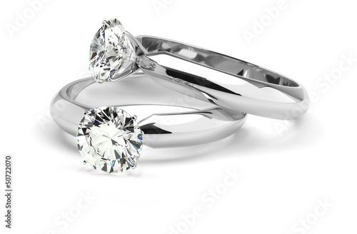 Fotografie, Obraz  Diamond Rings