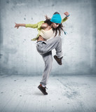 young woman hip hop dancer - 50722241