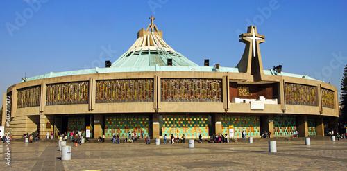 Fotografie, Obraz  nouvelle basilique de Guadalupé