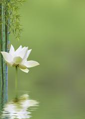 Panel Szklanydécor relaxant asiatique