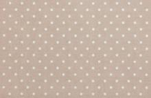 Light Brown Polka Dot Fabric