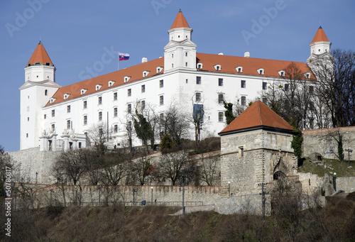The Bratislava castle, Slovakia Poster