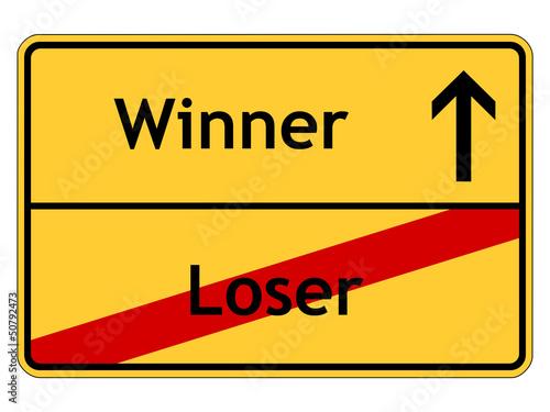 Loser - Winner Poster