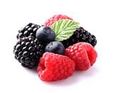 Sweet berry in closeup
