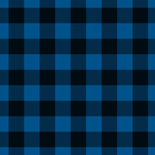 Blue And Black Plaid Fabric Background