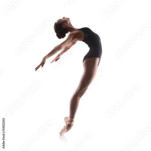 Fotografie, Obraz  Young balet dancer