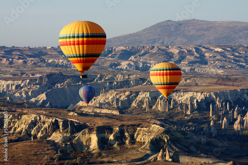 Wall Murals Paris Balloons in Cappadocia, Turkey