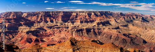 Printed kitchen splashbacks Canyon Panoramic Grand Canyon, USA