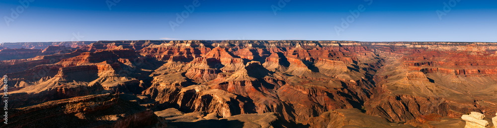 Panoramic Grand Canyon, USA