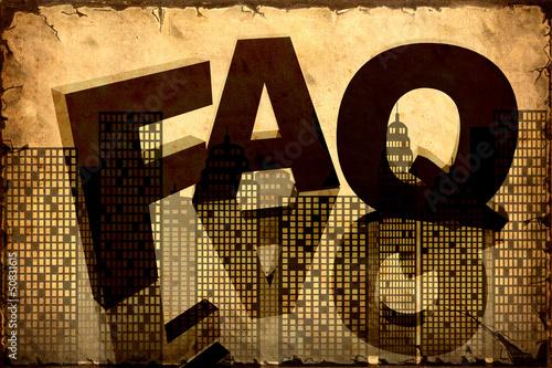 Papiers peints Affiche vintage Retroplakat - FAQ