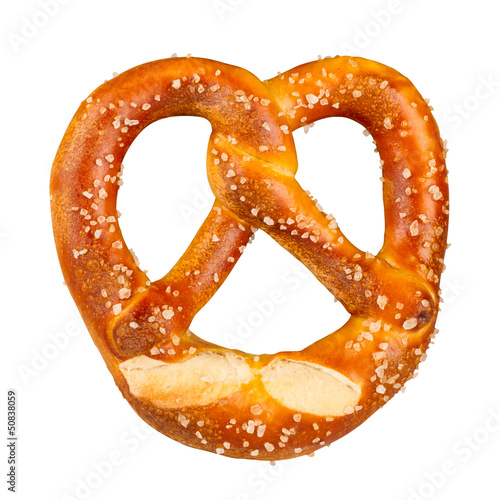 Fotografía fresh german pretzel