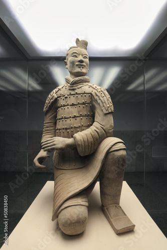 Staande foto Xian kneeling archer of terracotta warrior