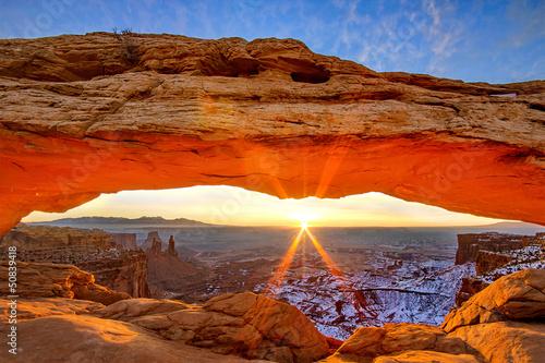 Fotomural Mesa Arch, Utah