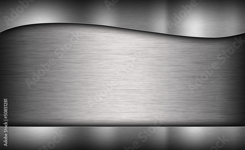 Türaufkleber Metall gray background of metal