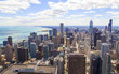 Aerial View (Chicago Downtown)
