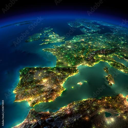 Fototapeta mapa mapa-europy