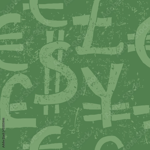 world currency symbols seamless pattern - Buy this stock vector and