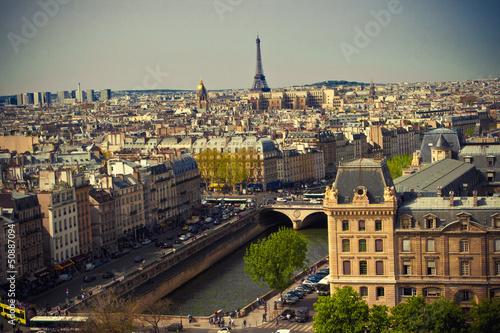 Stickers pour portes Paris Paris