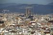 Barcelona's panoramic view