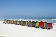 Beach Huts Blue Flag Beach At ...
