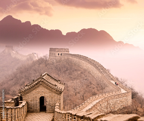 Foto op Canvas China Grande muraille de Chine
