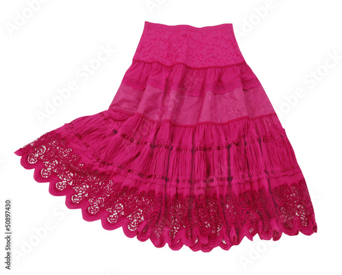 Fototapeta red skirt