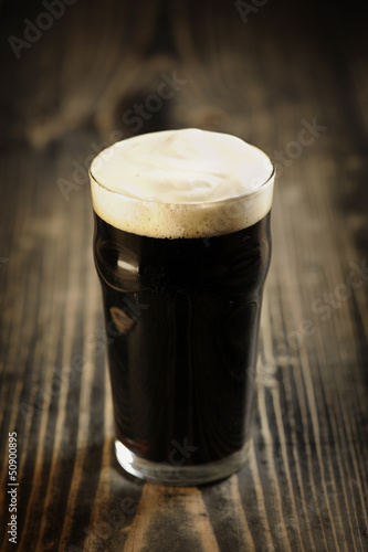 Photo Irish Stout beer