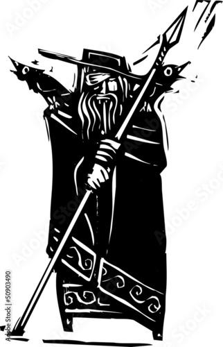 Photo  Norse God Odin