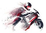 motocyklista - 50904086
