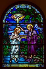 Fototapeta Witraże sakralne God and Jesus