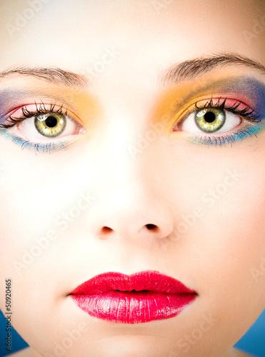 Fototapeta maquillage obraz na płótnie
