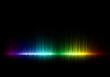 Leinwanddruck Bild - Abstract music equalizer