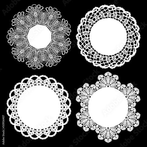 Fotografia, Obraz  Napkin elegant design elements