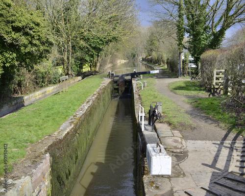 Keuken foto achterwand Kanaal canal