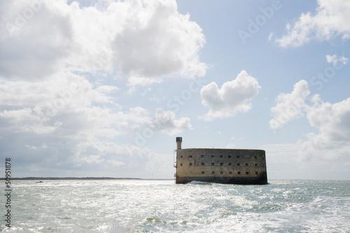 Foto op Aluminium Vestingwerk Fort Boyard in France