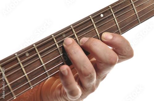 Fototapeta  Tocando la guitarra.