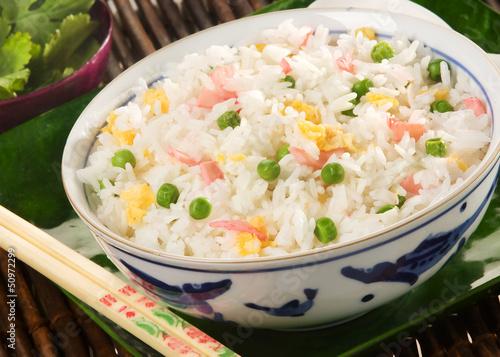 Photo riz cantonais