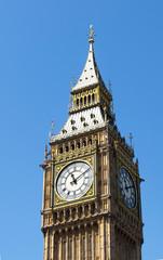 Fototapeta na wymiar Big Ben, The Tower Clock in London