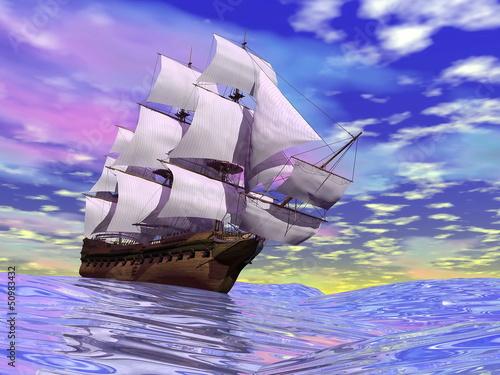 stary-statek-handlowy-3d