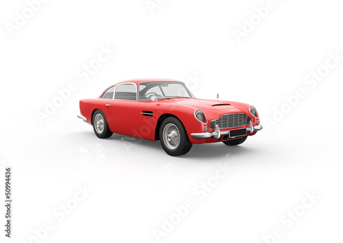 Photo  Aston Martin Db 5 Red