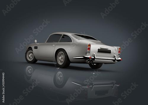 Photo  Aston Martin Db 5 Silver
