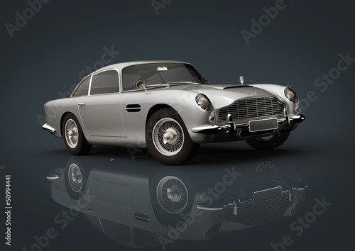 Photo  Aston Martin Db 5 Silver
