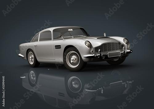 Photographie  Aston Martin Db 5 Argent