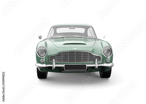 Photo  Aston Martin Db 5 Green