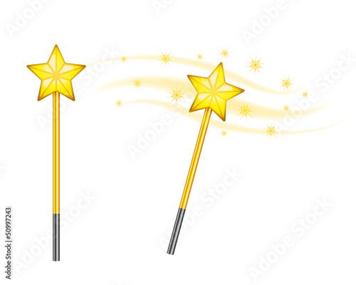 Fotografie, Obraz  Star magic wand