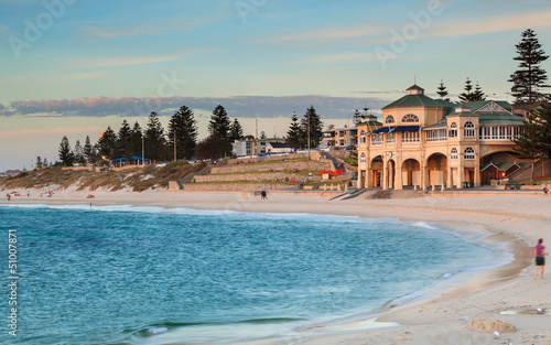 Foto op Canvas Australië Cottesloe Beach Perth
