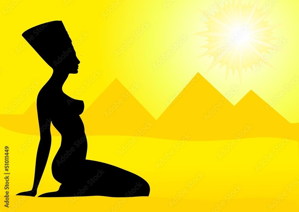 Photo & Art Print Egyptian queen  Nefertiti | EuroPosters