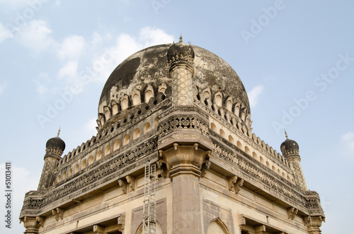 Платно Dome Detail, Qutb Shahi Tombs